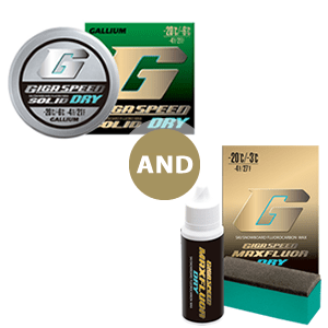 GIGA SPEED SOLID DRY + Maxluor DRY