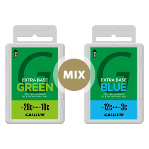 EXTRA BASE GREEN + BLUE